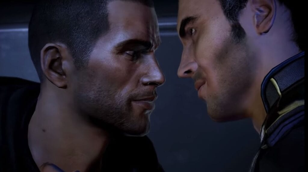 Mass Effect's Kaidan/Male Shepard Romance Wasn't Cut Content
