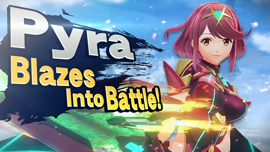 Super Smash Bros. Ultimate Adds Xenoblade Chronicles 2's Pyra/Mythra (VIDEO)