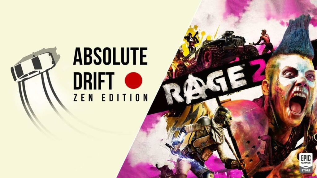 Rage 2 And Absolute Drift Are Free For A Limited Time