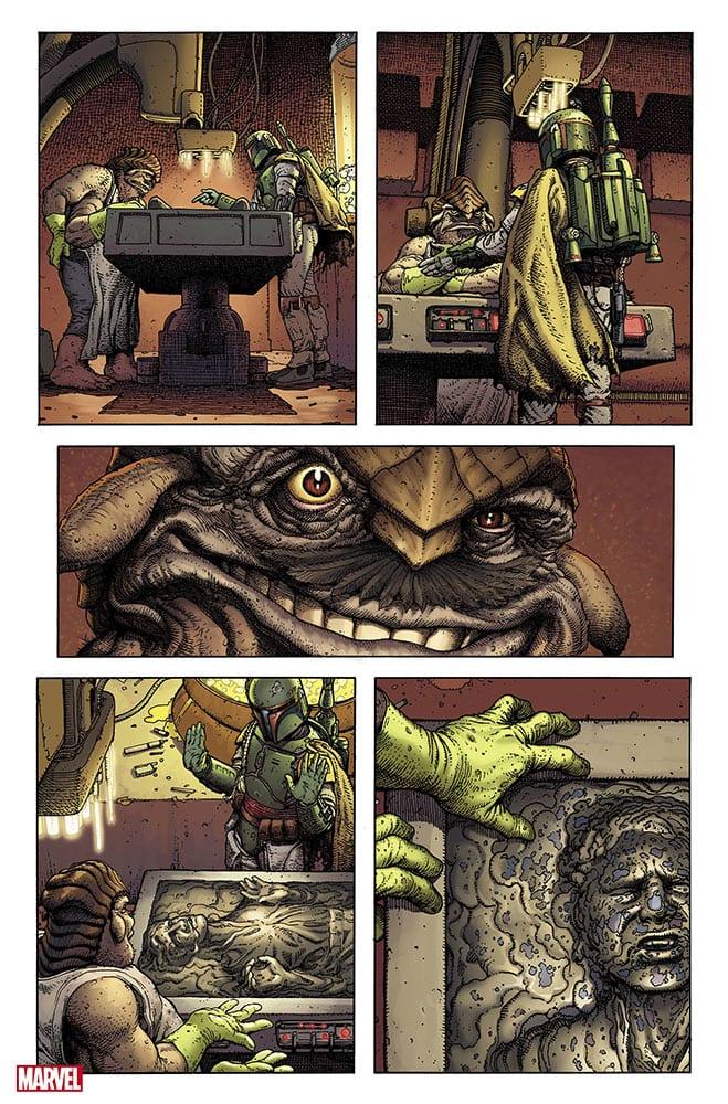 Boba Fett Comic Book