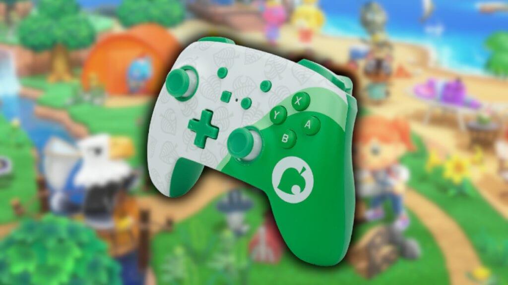 Animal Crossing Nintendo Switch PowerA Controller