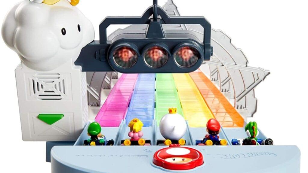 mario kart hot wheels rainbow road