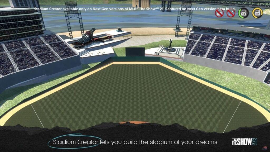 MLB The Show 21 Stadium creator