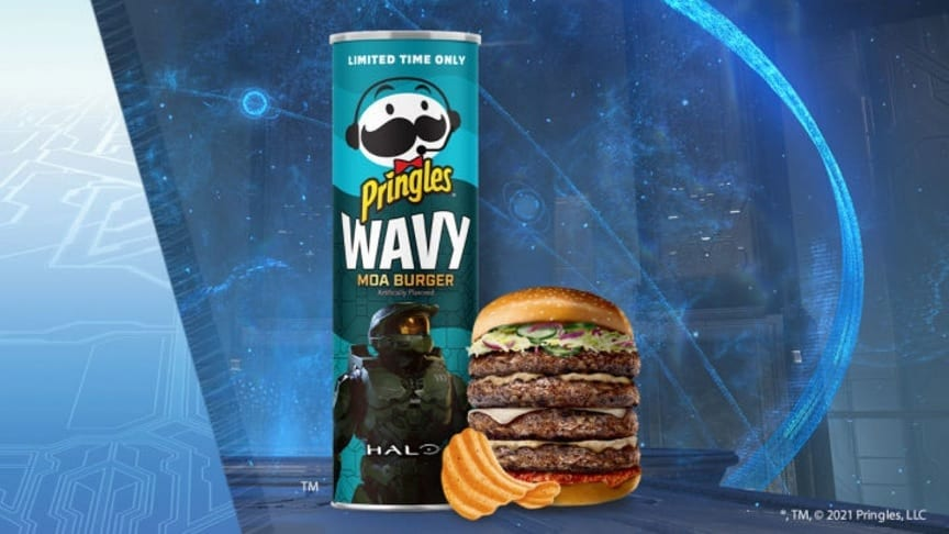 Halo: Reach Moa-Inspired Limited Edition Pringles Revealed