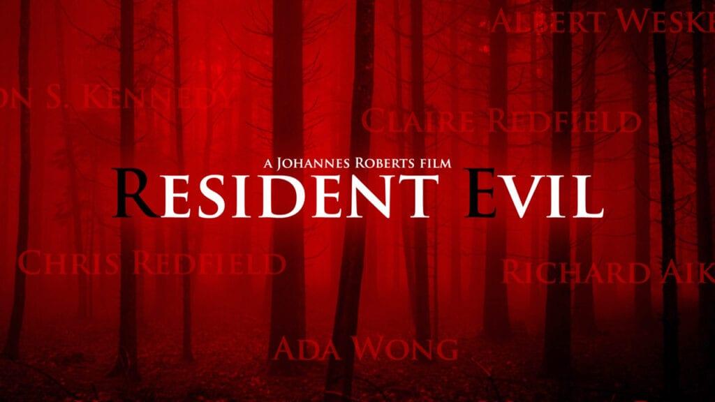 Resident Evil Movie RE 4 poster