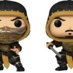 Mortal Kombat movie Funko Pops