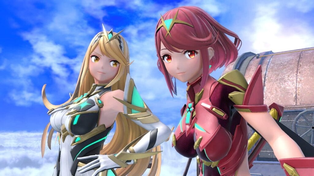 Super Smash Bros. Ultimate's Pyra/Mythra Releases Today (VIDEO)