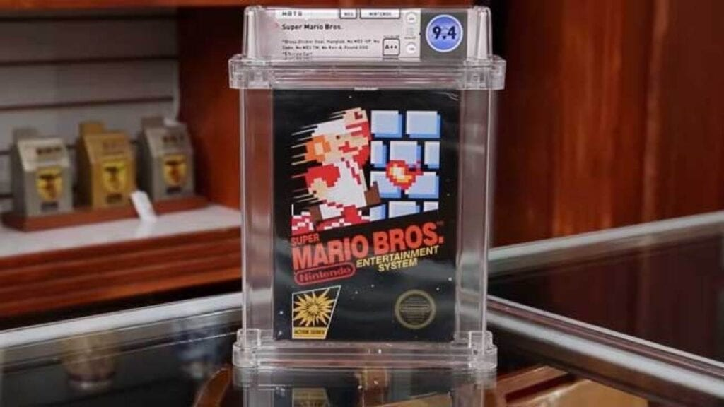 Unopened Super Mario Bros