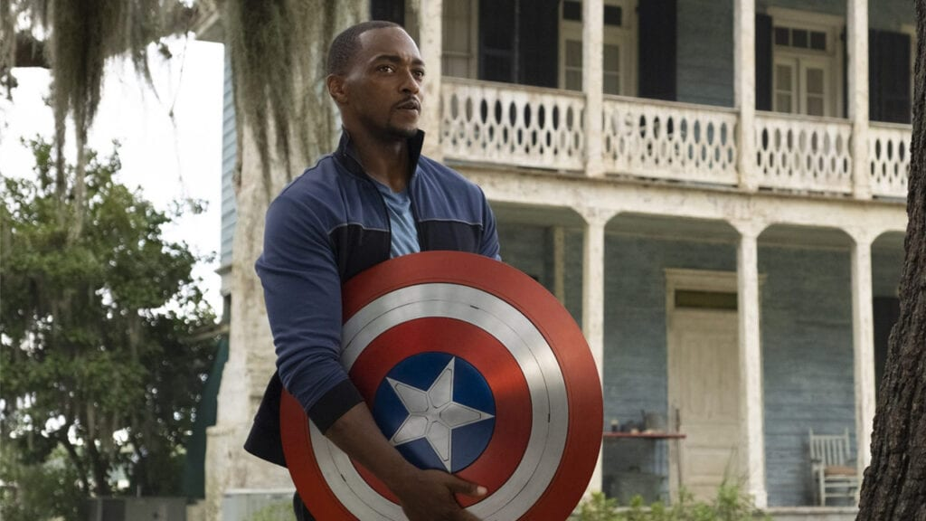 New Captain America The Falcon and the Winter Soldier.
