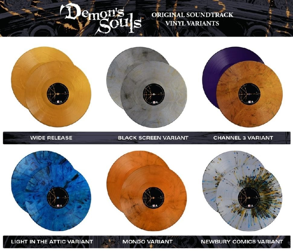 Demon's Souls Is Getting A Captivating New Vinyl Set