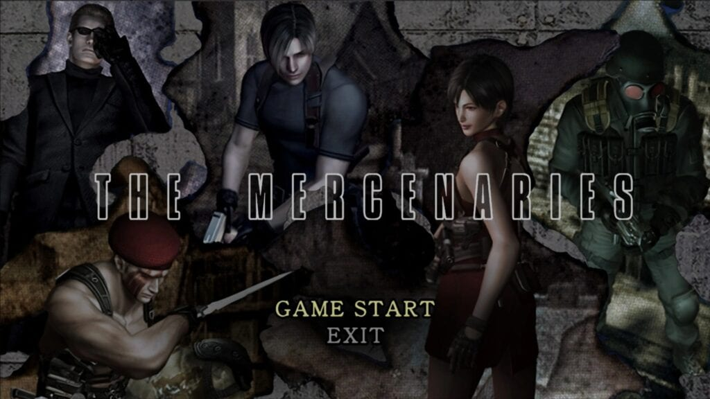 Resident Evil 4 The Mercenaries