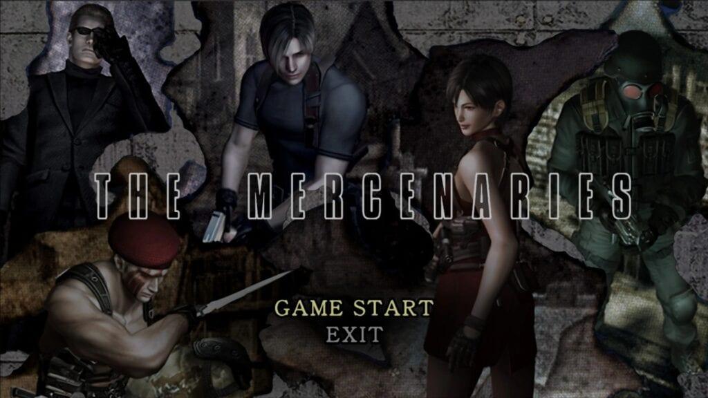 Resident Evil 4 The Mercenaries