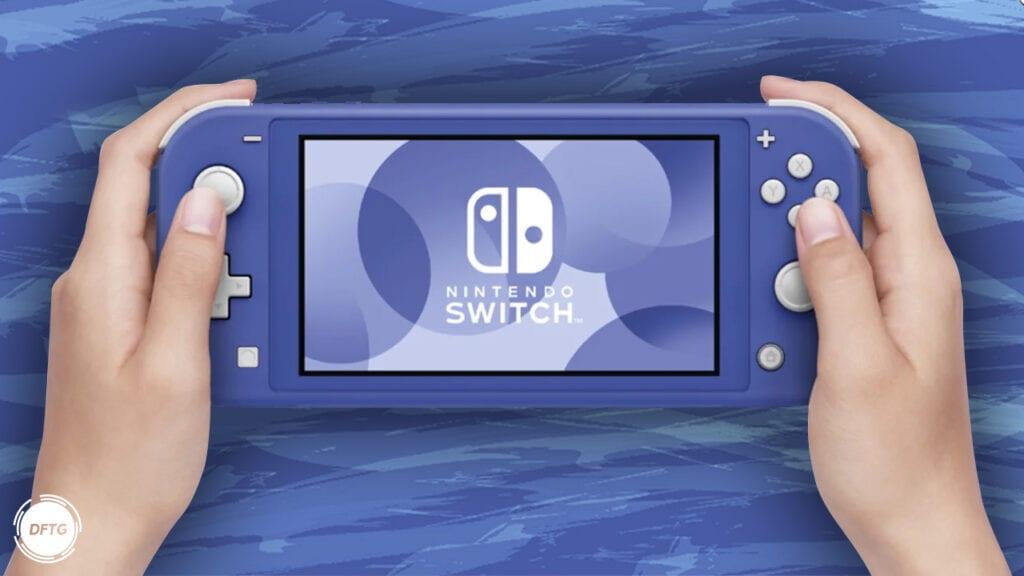 New Nintendo Switch Lite Blue