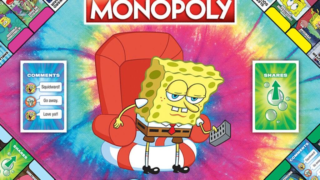 SpongeBob Monopoly Meme Edition