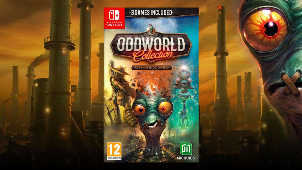 the oddworld collection