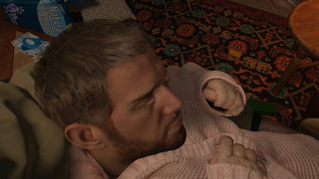 Resident Evil Village Mod Chris Redfield Baby Rose