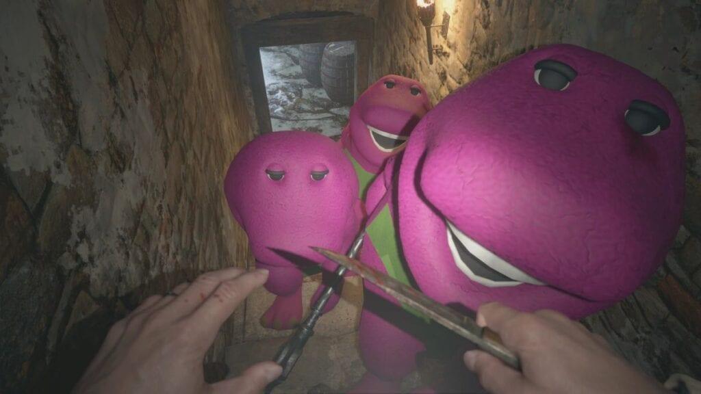 Resident Evil Village Barney