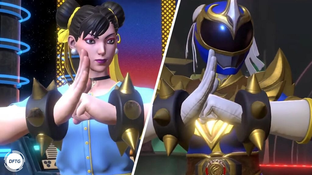 Chun-Li Power Rangers: Battle For The Grid