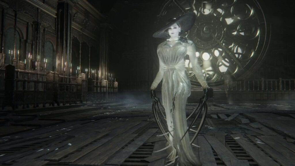 Lady Dimitrescu Bloodborne