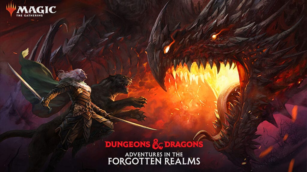 Magic The Gathering Dungeons & Dragons Adventures In The Forgotten Realms