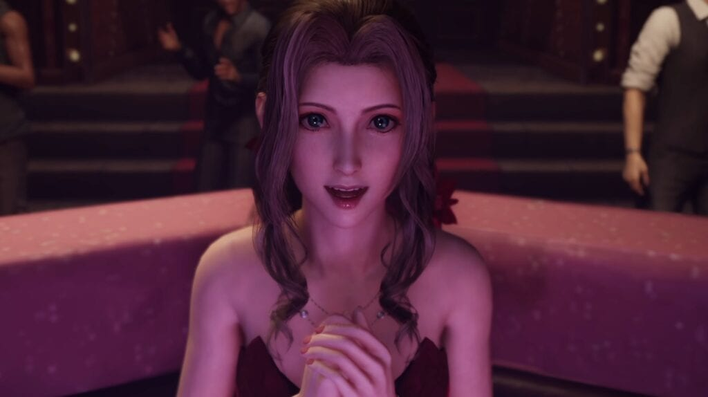 Final Fantasy VII Remake Almost Included Cloud Pole-Dancing At The Honeybee Inn