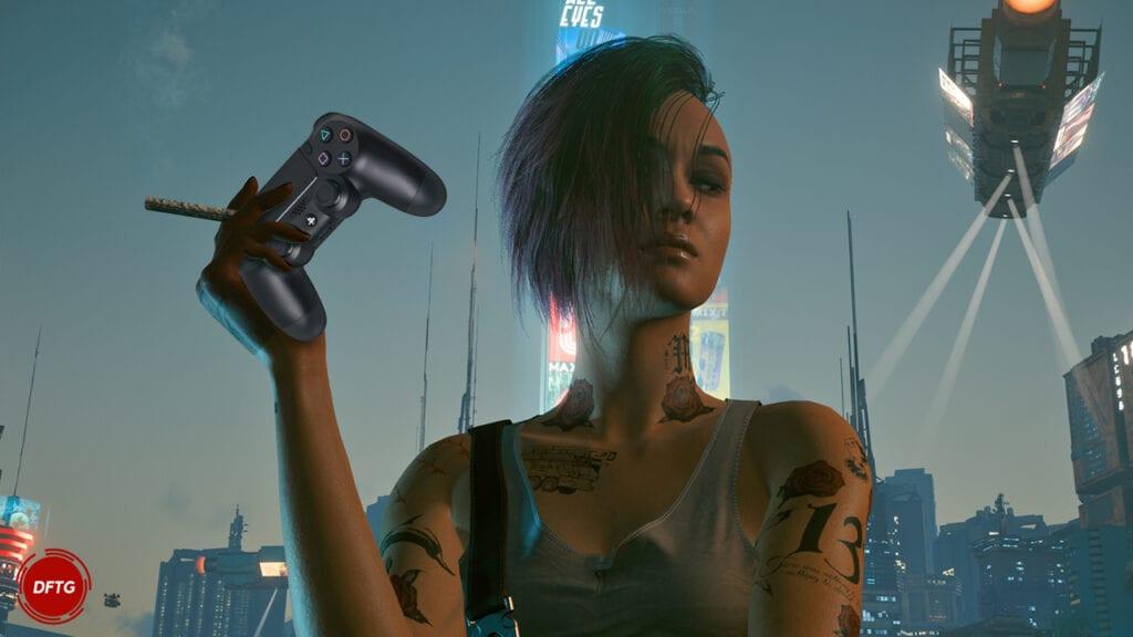Cyberpunk 2077 PS4 Judy