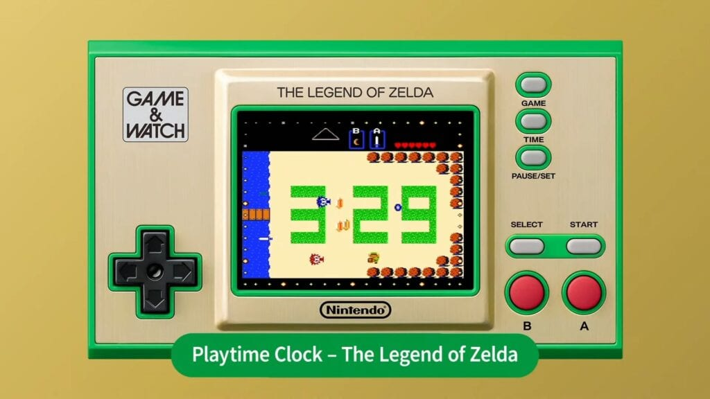 Zelda Game and Watch
