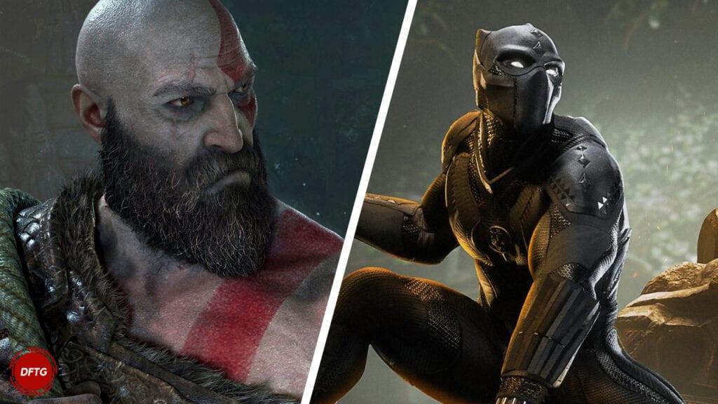 God of War Kratos Black Panther Marvel's Avengers
