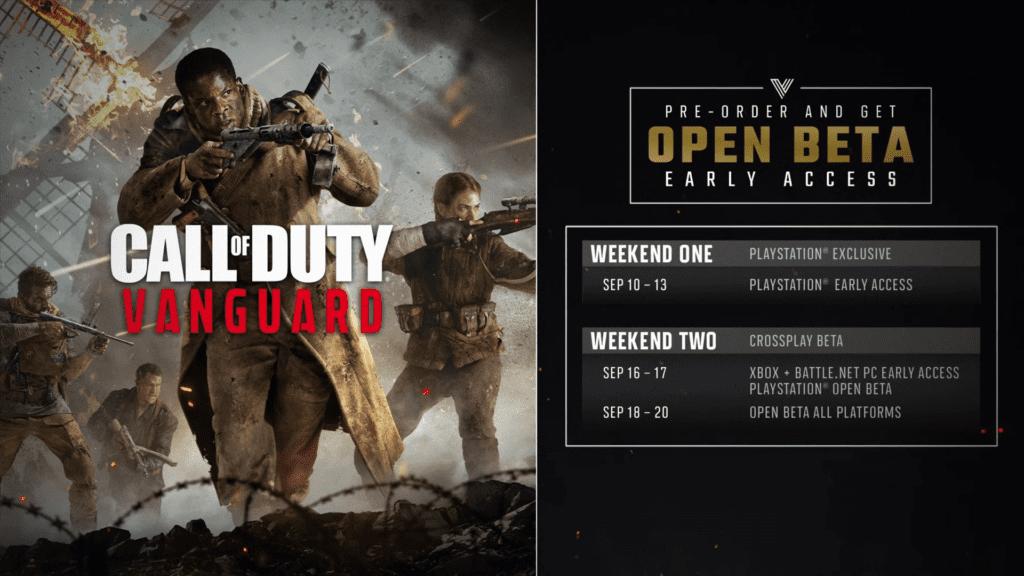 Call of Duty Vanguard Open Beta