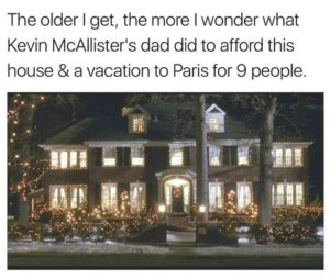What Kevin McAllister's dad did