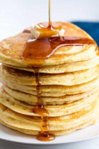 Breakfast Pancakes & Sausage