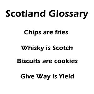 Scotland Glossary
