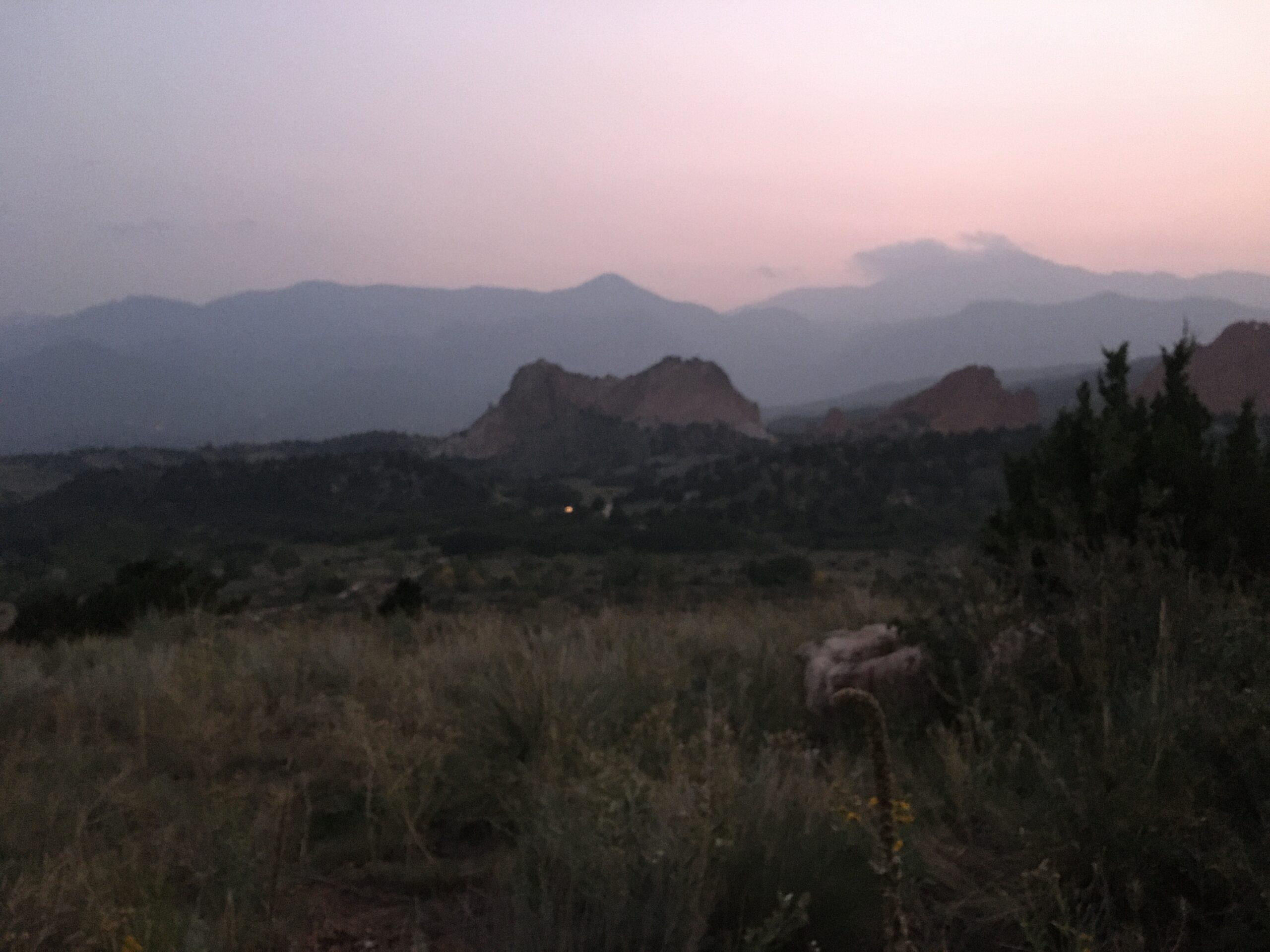 smoky Pikes Peak