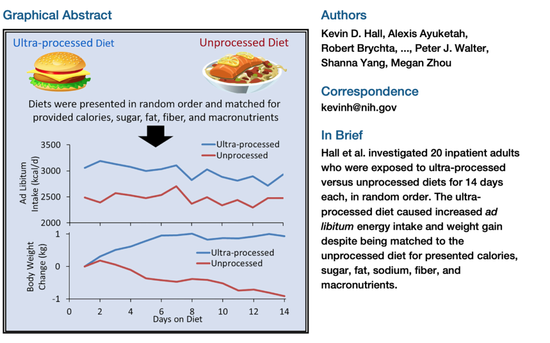 Review of Processed Food Study by Kevin Hall