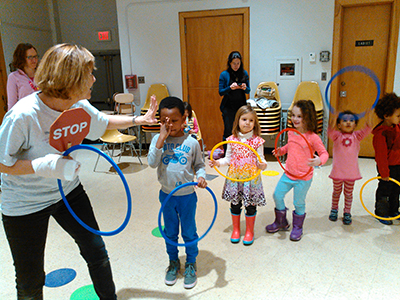 Imagine and Move at the Roslindale Library March 14, 2015