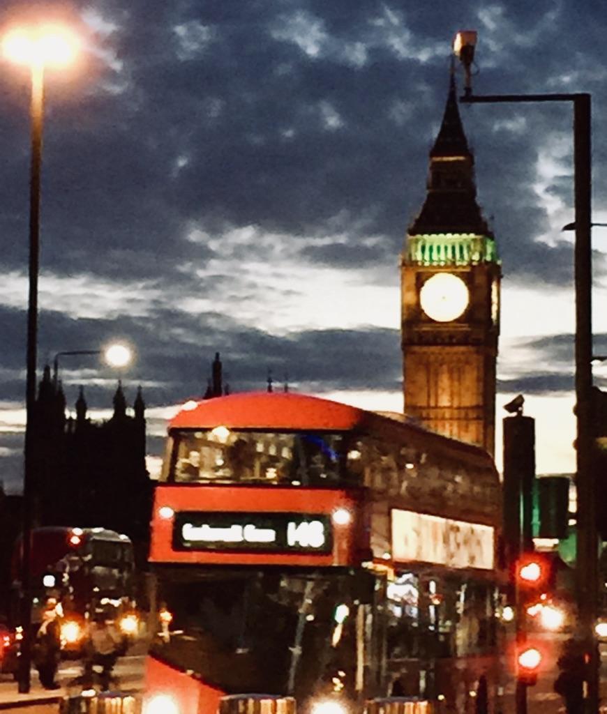 London UK street scene