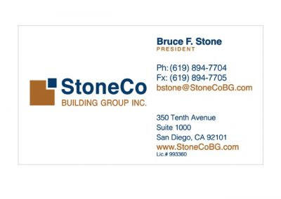 Commercial Builder Business Cards