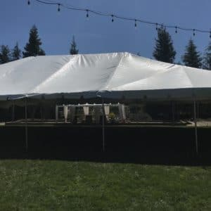 Elk Grove Wedding and Party Tent