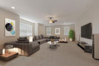 Virtual Staging Example 1