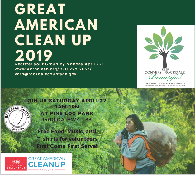 Great American Cleanup 2019 @ Pine Log Park