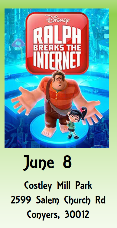 Sunset Cinema - Ralph Breaks the Internet @ Costley Mill Park