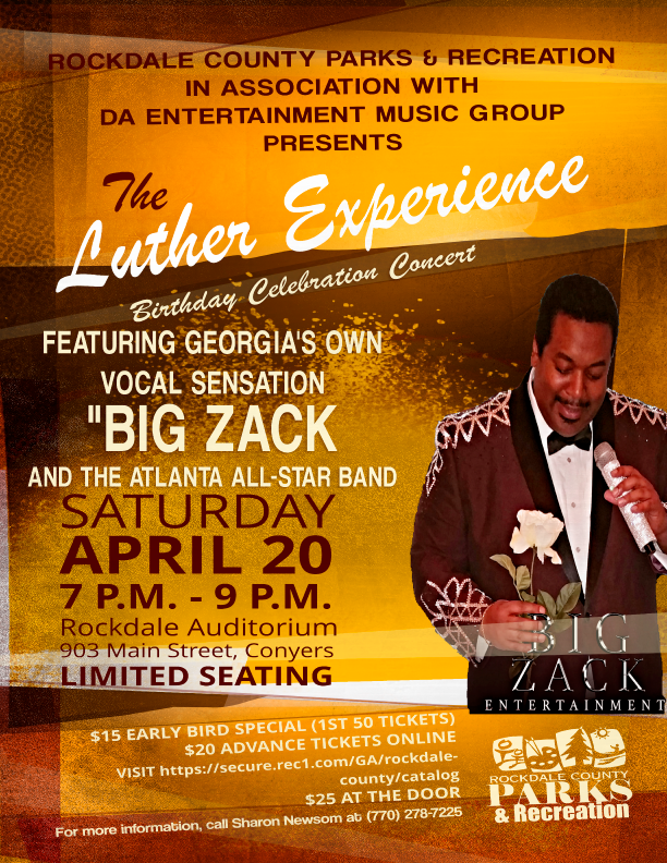 The Luther Experience @ Rockdale Auditorium