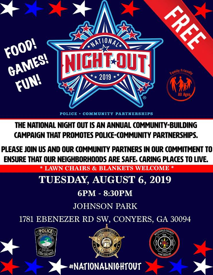 National Night Out @ Johnson Park