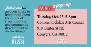 ARC Pop-Up Open House @ Conyers Rockdale Arts Council
