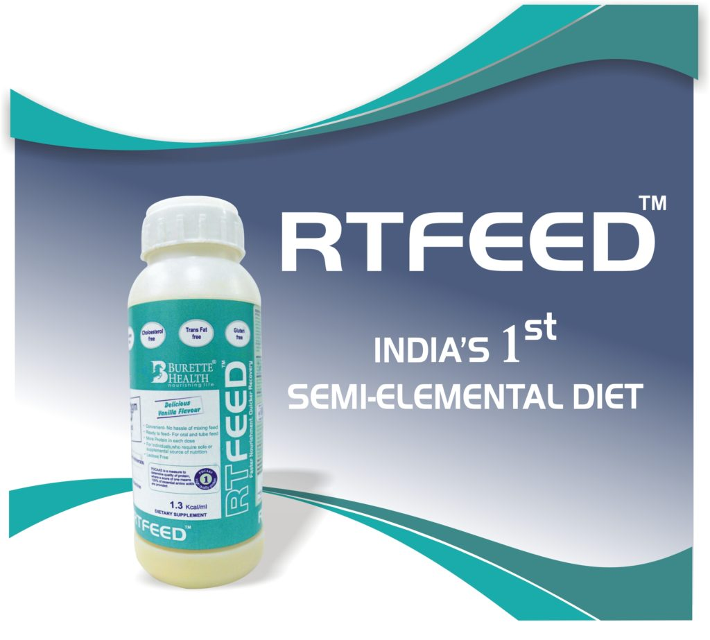 Burette Health RT Feed - India's 1st Semi-elemental diet