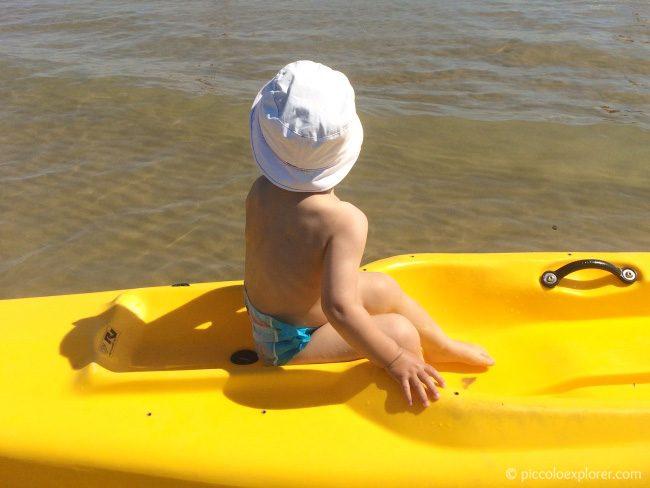 Canoe Fano Beach