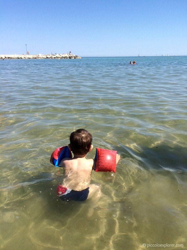 Fano Lido Uno Beach Swimming