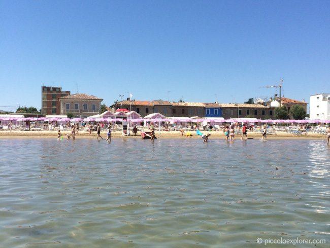 Fano Beach Adriatic Sea