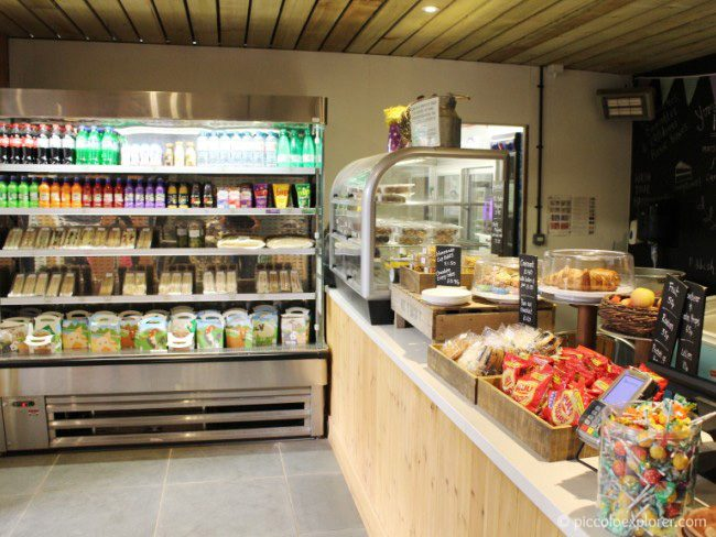 The Cow Shed Coffee Bar at Bocketts Farm Park Surrey