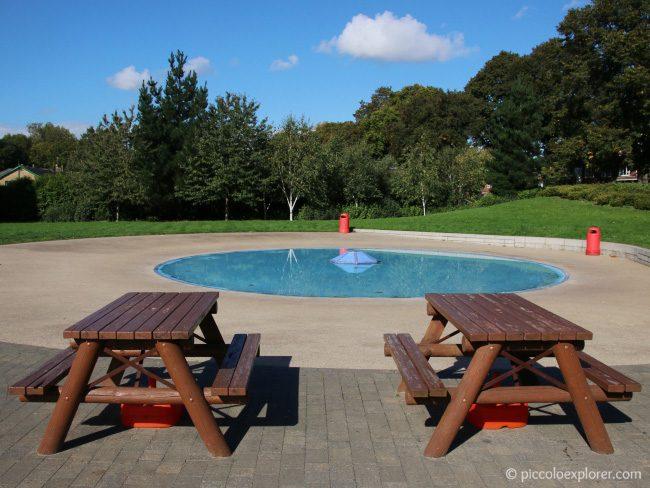 Paddling Pool at Dukes Meadows Park